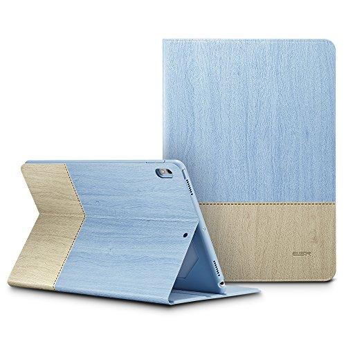 ESR Urban Series Case for The iPad Pro 10.5, Premium Folio Case, Book Cover Design, Multi-Angle Viewing Stand, Smart Cover Auto Sleep/Wake Function for Apple iPad 10.5-inch 2017(Sky)