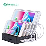 Fastest Charging Station for Multiple Devices, Othoking USB...