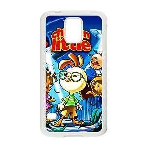 Generic for Samsung Galaxy S5 Cell Phone Case White Chicken Little Custom HLFDKFFKD2975