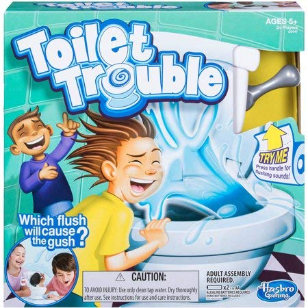 Try me Flush Will Cause the Gush Toy Kids