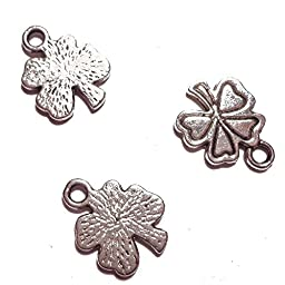 Rainbow Clover Charms Pendent Findings Jewelry Making, 172 Piece