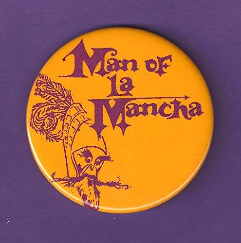 Richard Kiley 'MAN OF LA MANCHA' Joan Diener / Mitch Leigh 1965 Broadway Pinback