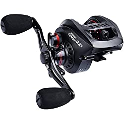 KastKing Speed Demon 9.3:1 Baitcasting Fishing Reel – World's Fastest Baitcaster – 12+1 Shielded Ball Bearings – Carbon Fiber Drag. r Drag