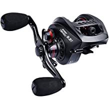 KastKing Speed Demon 9.3:1 Baitcasting Fishing Reel – World's Fastest Baitcaster – 12+1 Shielded Ball Bearings – Carbon Fiber Drag – Affordable - New for 2017!