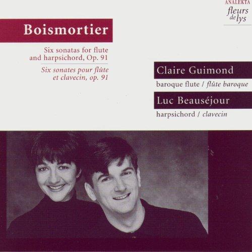 (Six sonatas for flute and harpsichord, Op.91 (Boismortier))