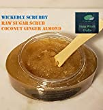 Wickedly Scrubby Raw Sugar Scrubs - Coconut Ginger Almond
