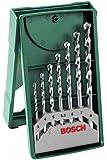Bosch Mini-X-Line - Paquete de 7 brocas para piedra