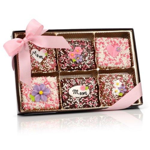 te Covered Graham Crackers Gift Box of 12 (Chocolate Graham Cracker Cookies)