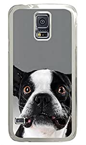 Samsung Galaxy S5 Angry Puppy Funny PC Custom Samsung Galaxy S5 Case Cover Transparent