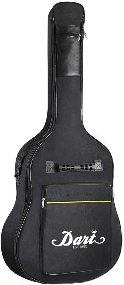 Malayas Funda para Guitarra 40 41 Pulgadas Funda Acolchada con 2 Correas Ajustables Bolsa para Guitarra Acústica/Española/Clásica: Amazon.es: Instrumentos musicales