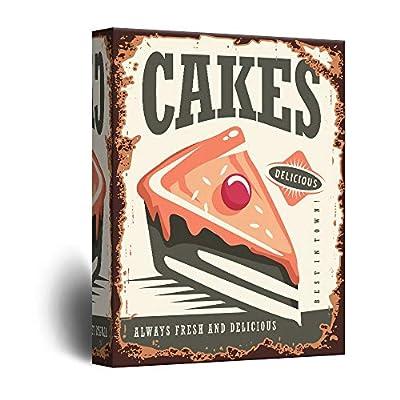 Beautiful Design, Premium Product, Vintage Poster Style Cakes Art