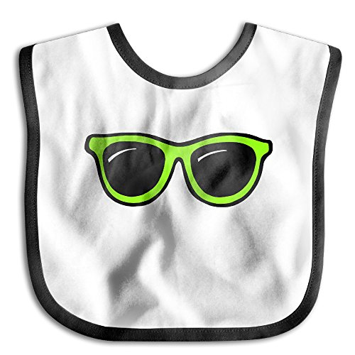 MARIA Green Sunglasses Breathable Babies Toddler Saliva Towel Drool Bibs Baby Bib - Hut Sunglass Hawaii
