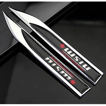 Car Chrome Emblem D New Auto 3d Decal Truck Logo Sticker Grill Badge Frame Nismo