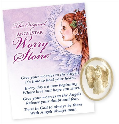AngelStar 8716 Courage Worry Stone - Pack of 4