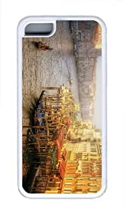 cover online venice italy sunrise TPU White Case for iphone 5C