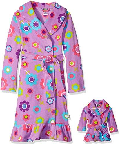 Dollie Me Floral Printed Fleece