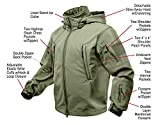 Rothco Special Ops Tactical Soft Shell Jacket, Olive Drab, M