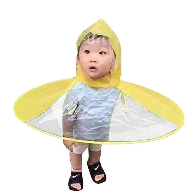 Mxssi Divertido Creativo Impermeable Sombrero Paraguas Sombrero Gorra Pesca Al Aire Libre Golf Niño Adulto Capa