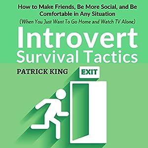 Introvert Survival Tactics Audiobook