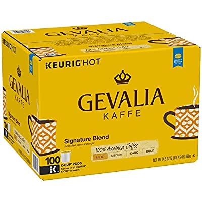 Gevalia Signature Blend Coffee, K-CUP Pods, 100 Count