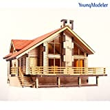 Brand : Youngmodeler;Size : 180 x 140 x 190 mm (7.0(L) x 5.5(H) x 7.4(H));Material : Wood;Time consuming : 180 Min;Made in Korea