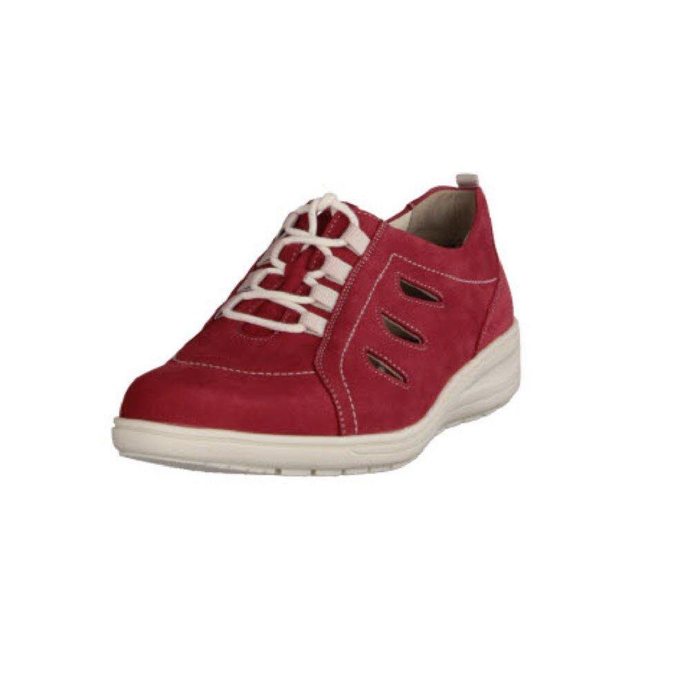 Solidus Kate - Zapatos de cordones para mujer 5.5|Rojo - Rojo