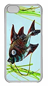 iPhone 5C Case, Personalized Custom Fish 2 for iPhone 5C PC Clear Case