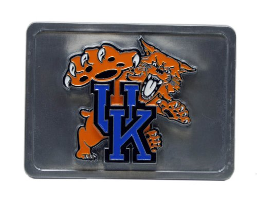 Kentucky Wildcats 3-D Trailer Hitch Cover - NCAA College Athletics Fan Shop Sports Team Merchandise College Teams Merchandise