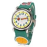 Fashion Brand Quartz Wrist Watch Baby Children Girls Boys Watch Basketball Design Waterproof Watches