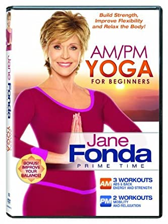 Amazon.com: Jane Fonda: AM/PM Yoga For Beginners [DVD ...