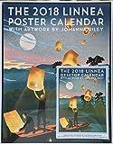 2018 Linnea Design Calendar Bundle: 1 Poster Calendar and 1 Desktop Calendar