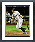 "Evan Longoria Tampa Bay Rays 2016 MLB Action Photo (Size: 12.5"" x 15.5"") Framed"