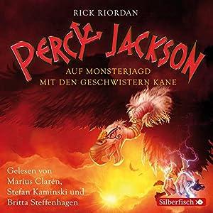 Auf Monsterjagd mit den Geschwistern Kane (Percy Jackson und die Geschwister Kane 1) Hörbuch