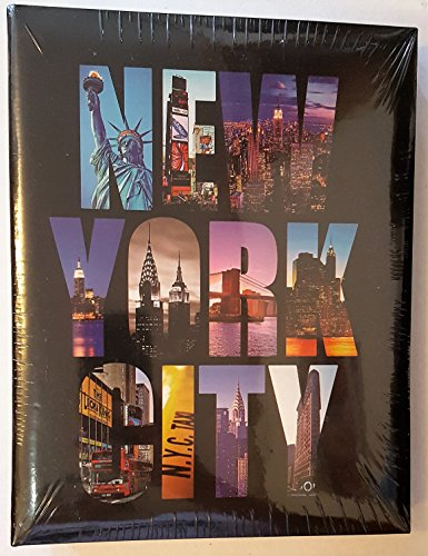 New York City NYC Photo Album - Holds 4x6 Pictures (Holds 200 Pictures) by NYC Souvenirs