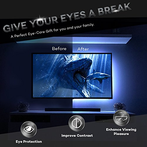 Rgb Led Home Theater Accent Lighting Kit: Megulla Bias TV Lighting Kit Accent/Ambient TV Lighting