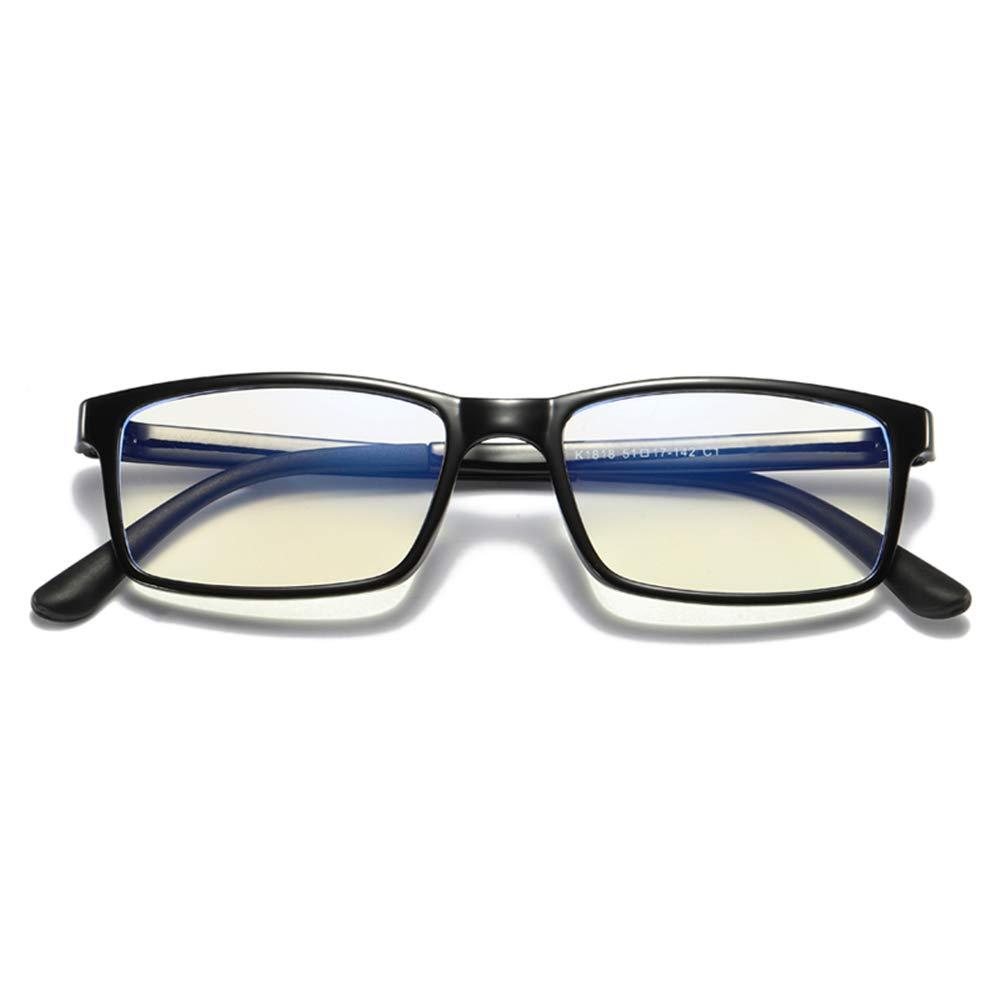 Brille Anti-Strahlung Anti-Blaulicht Flachen Spiegel Retro-Rahmen