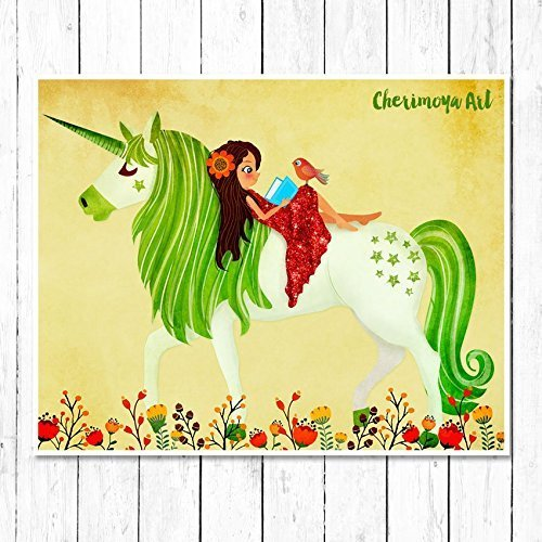 Unicorn wall art for girls rooms – Unicorn Decor