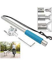 Hands Free Bike Dog Leash [Ultra Strong UHMWPE Leash] Quick Release Bicycle Dog Exerciser Leash 500-lbs Pull Strength (New Version)