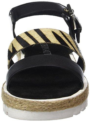 ARQUEONAUTAS 6751 - Sandalias Mujer Negro - negro