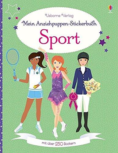 Mein Anziehpuppen-Stickerbuch: Sport