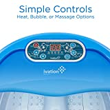 Ivation Foot Spa Massager - Heated Bath, Automatic