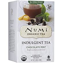 Numi Organic Tea Indulgent Tea Bags - Chocolate Mint - 12 ct by Numi