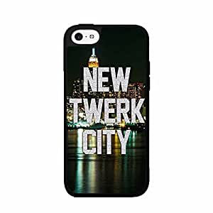 New Twerk City Plastic Fashion Phone Case Back Cover iPhone 5 5s