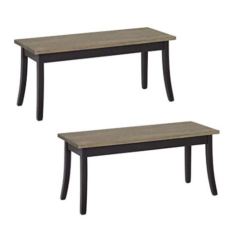 American Made Furniture >> Amazon Com Dutchcrafters Amish Cosette 42 Dining Bench