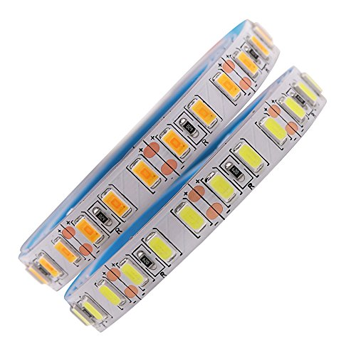 XUNATA 5M LED Strip SMD 5730 5630 120 LEDs/m Flexible LED Tape Light SMD Epistar, Non-waterproof DC12V, White