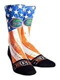 NCAA Florida Gators Custom Athletic Crew Socks, Stars & Stripes, Youth