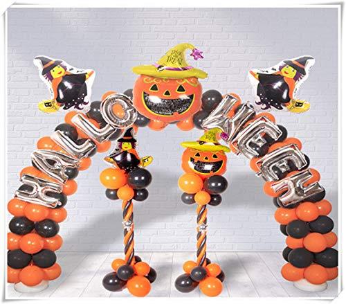 Halloween Decorative Balloons, bar Ghost Scenes, Props Decorations, Pumpkin bat Party Columns. ()