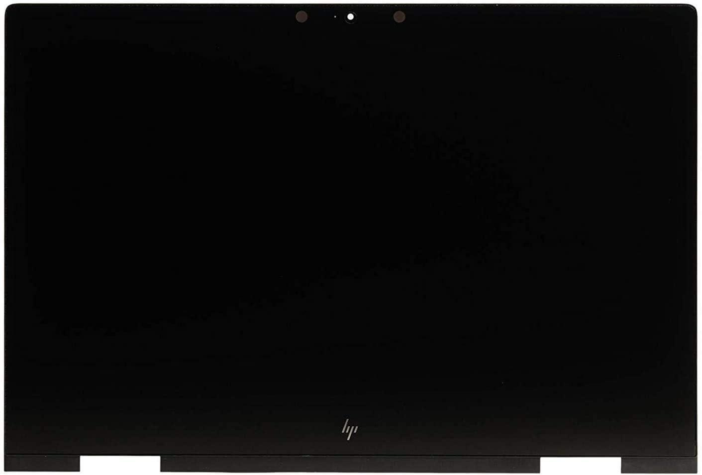 "15.6"" FHD IPS LCD Screen Display + Touch Digitizer + Bezel Frame Assembly 925736-001 Fit HP Envy x360 15-BP 15M-BP 15-BQ 15M-BQ 15M-BP012DX 15M-BP111DX 15M-BP112DX 15M-BQ021DX"