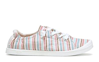 a6de8f48 Image Unavailable. Image not available for. Color: Roxy Womens Bayshore Slip  on Shoe Sneaker ...