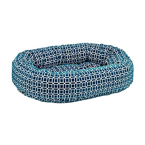 Atlantis Donut Diamond-Microfiber Dog Bed